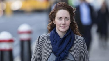 """""""My personal life was a bit of a car crash for many years"""": Rebekah Brooks arrives at the Old Bailey in London."""