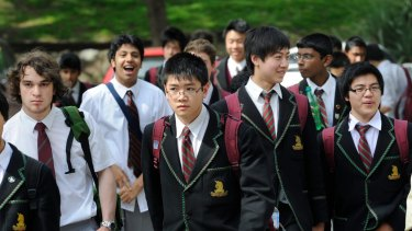 Top performers: Chinese, Indian and Jewish students appear regularly in the ranks of the state's top-performing VCE students, reflecting the value their cultures place on education