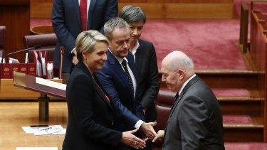 Governor-General Sir Peter Cosgrove was accused of snubbing deputy Labor leader Tanya Plibersek.