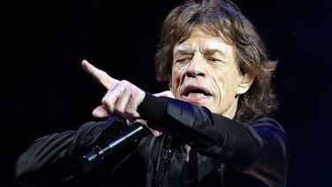 Hip shaker: Mick Jagger.