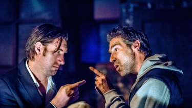 Septimus Caton and Ashley Lyons in Louis Nowra's This Much is True.