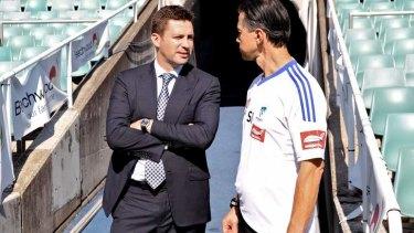 No interest: Sydney FC chairman Scott Barlow said no to Manchester City.