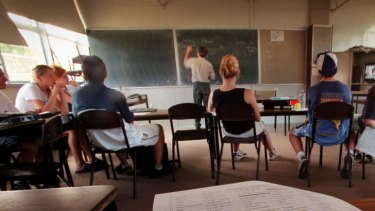 Shortage ... a recruitment push by the government to boost the number of teachers has not been very successful.