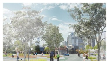 The new plan for Melbourne's most expensive park.