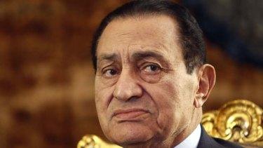On trial August 3 ... Egypt's former president, Hosni Mubarak.