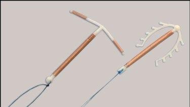 Copper intrauterine devices.