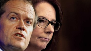Workplace Relations Minister Bill Shorten is supporting Prime Minister Julia Gillard - but for how long?
