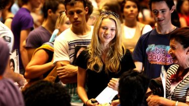 Inside information: Prospective students can get a feel for university life at open day.