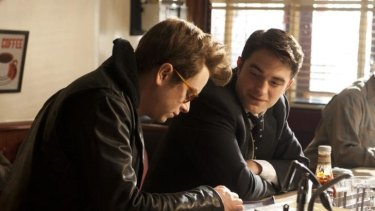 Fine performances: Dane DeHaan and Robert Pattinson in <i>Life</i>.