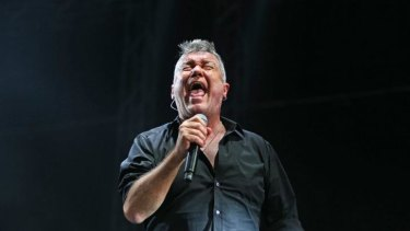 Powerful, talented and gutsy ... If Jimmy Barnes can't hold notes for as long, he puts in effort and stamina that can't be faulted.