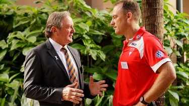 Kevin Sheedy and John Longmire.