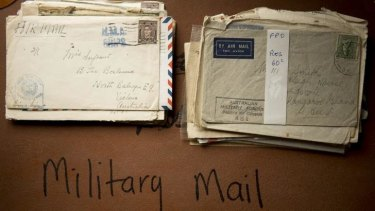 Old examples of air mail.