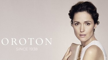 Oroton has hired actress Rose Byrne as a brand ambassador.