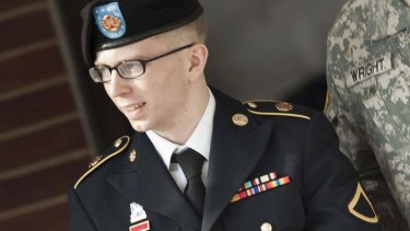 Bradley Manning's disenchantment with the war stemmed from politics.
