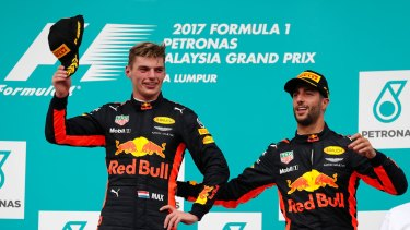 Ricciardo's teammate Max Verstappen seems to be the likely top driver at Red Bull in seasons to come.