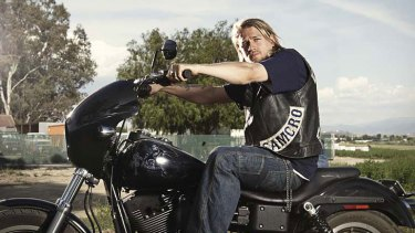 Charlie Hunnam in <i>Sons of Anarchy</i>.