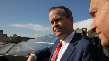 Bill Shorten wants to relax the rules around renewable energy investment.