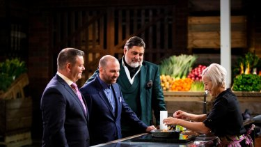 Channel Ten's Masterchef is rating well, but the company faces financial troubles.