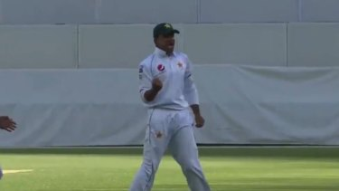 Imran Khan with a magnificent delivery.