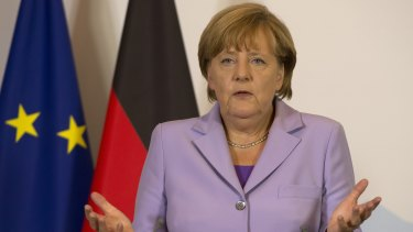 "German Chancellor Angela Merkel ""There will be no tolerance towards those who question the dignity of others."""