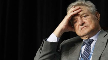 There are eerie resemblances between China now and the US pre-GFC crash, George Soros says.