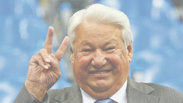 The late Boris Yeltsin in 2006, the year before he died.