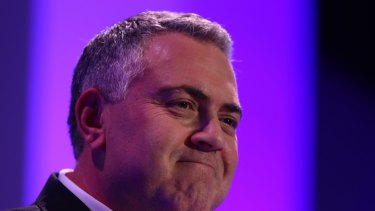 Treasuer Joe Hockey.