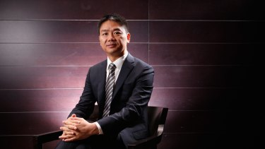 Richard Liu, founder of Chinese internet company JD.com, says taking over Australian companies could fuel the ecommerce giant's expansion.