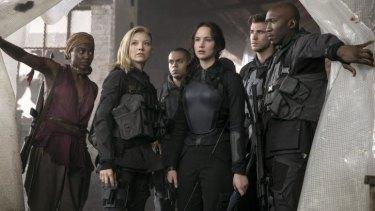 Scene from <i>The Hunger Games: Mockingjay Part One</i>.