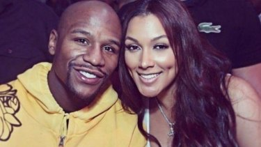 Floyd Mayweather and Shantel Jackson in happier times.