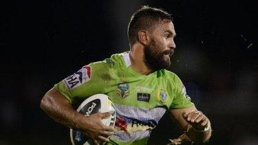 Matt Allwood is leaving Canberra for the Warriors
