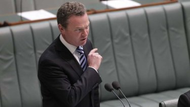 "Education Minister Christopher Pyne: ""Quality is our watchword and we aren't bound by the previous government's policy decisions."""