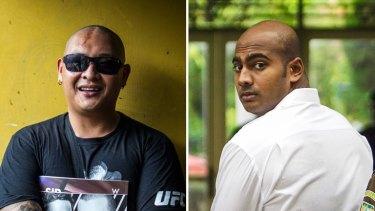 Andrew Chan and Myuran Sukumaran.