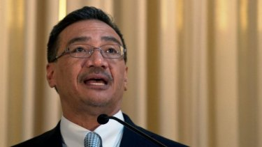 Malaysian minister Hishammuddin Hussein said MH370 was allowed to disappear.