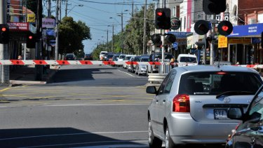 Level playing field? ... Motorists would have to pay tolls for upgraded level crossings in Melbourne.