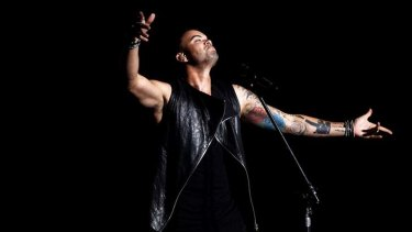 Commanding a huge audience ... Guy Sebastian's album goes platinum in the US.