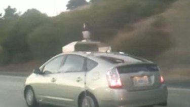 The self-driving Toyota Prius.