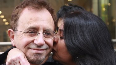 Theo Theophanous and his wife Rita.