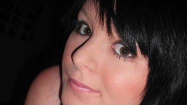 'Murdered' ... A photo of Chantelle Marie Rowe from a public Facebook tribute page.