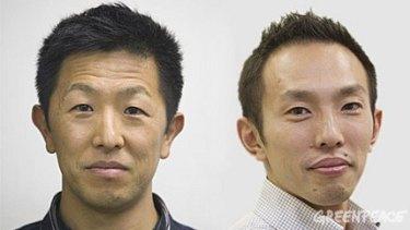 The Tokyo 2 ... Junichi Sato and Toru Suzuki.