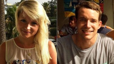 Victims: Hannah Witheridge and David Miller, British tourists killed in Thailand.