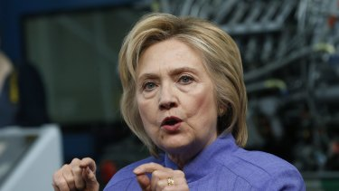 Democratic presidential candidate Hillary Clinton has blasted Donald Trump's economic credentials.