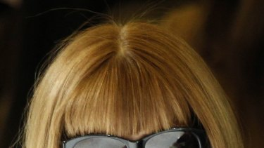 Anna Wintour ... taught Messina how to use Obama-themed merchandise