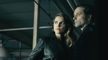Keri Russell and Matthew Rhys in The Americans on Foxtel.