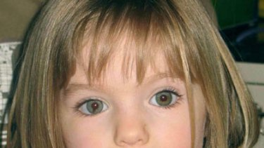 Missing for two years ... Madeline McCann.