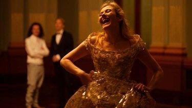 Idiosyncratic … soprano Aleksandra Zamojska during a fitting of her Vivienne Westwood-designed costume.