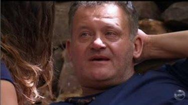 In tears: Former royal butler Paul Burrell in tears recalling Princess Diana's death.