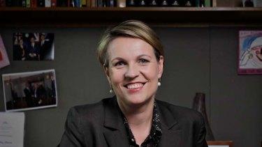 Tanya Plibersek ... the new Minister for Health.