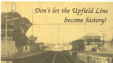 Don't let the Upfield line become history! a