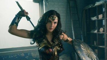 Wonder Woman star Gal Gadot.